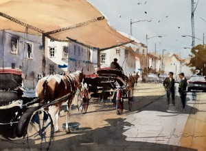 Carriages at Yarmouth